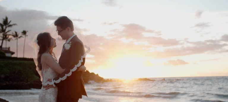 That's Her! A Chinese Couple Marries in Hawaii